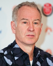 Tennis Great John McEnroe