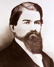 Pharmacist John Pemberton