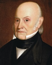 6th US President John Quincy Adams