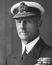 British Admiral of the Fleet John Rushworth Jellicoe