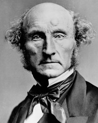 Philosopher and Political Economist John Stuart Mill