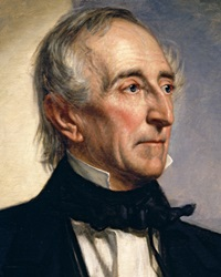 10th US President John Tyler