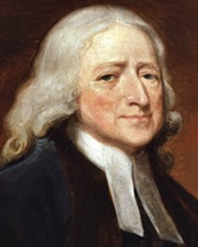 Co-founder of the Methodist Movement John Wesley