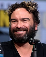 Actor Johnny Galecki