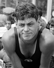Swimmer and Actor Johnny Weissmuller