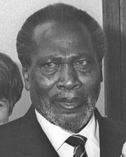 Kenyan Prime Minister and President Jomo Kenyatta