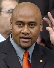 Rugby Union Superstar Jonah Lomu