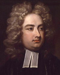 Author, Poet and Satirist Jonathan Swift