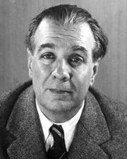 Writer Jorge Luis Borges