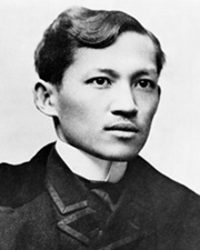 Filipino Nationalist and Novelist Jose Rizal