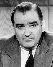 US Senator Joseph McCarthy