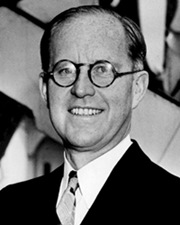 Patriarch of the Kennedy family Joseph P. Kennedy