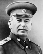 Soviet General Secretary Joseph Stalin