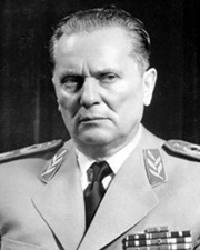 President of Yugoslavia and Revolutionary Josip Broz Tito