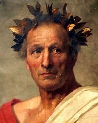 Roman Military Commander and Political Statesman Julius Caesar