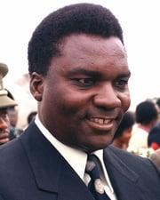Dictator and President of Rwanda Juvénal Habyarimana
