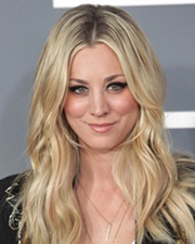 Actress Kaley Cuoco