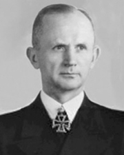Naval commander and Nazi leader Karl Dönitz
