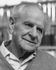 Philosopher and Professor Karl Popper