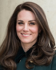 Wife of Prince William Kate Middleton