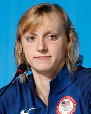 Swimmer Katie Ledecky