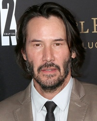 Actor and Musician Keanu Reeves