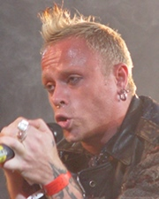 Singer and Dancer Keith Flint