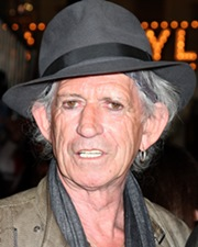 Guitarist and Songwriter Keith Richards