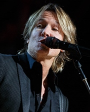 Country Singer-Songwriter Keith Urban