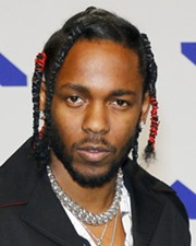 Singer-songwriter and Rapper Kendrick Lamar
