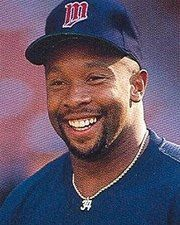 MLB Center Fielder Kirby Puckett