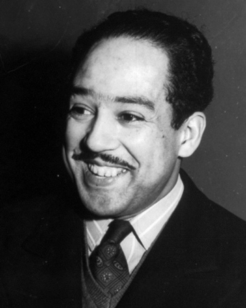 Poet and Playwright Langston Hughes