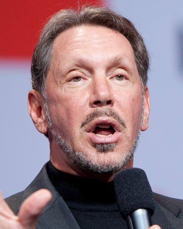Entrepreneur and Founder of Oracle Larry Ellison