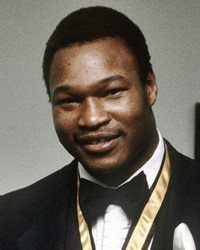 WBC Heavyweight Champion Larry Holmes