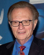 TV and Radio Host Larry King