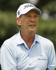 Golfer and Three-Time Major Championship Winner Larry Nelson