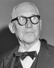 Architect and City Planner Le Corbusier