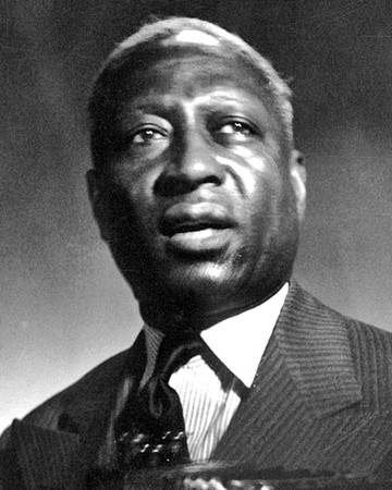 Blues Musician Lead Belly