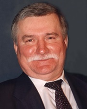 Polish Politician and Labor Activist Lech Wałęsa