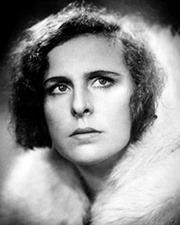 Film director Leni Riefenstahl