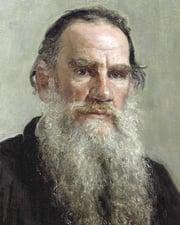 Novelist Leo Tolstoy
