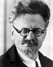 Russian Revolutionary Leon Trotsky