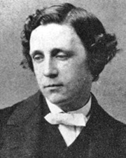 Author of Alice in Wonderland Lewis Carroll