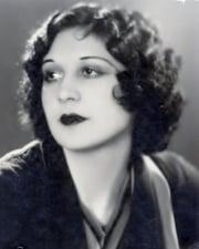 Actress Lita Grey