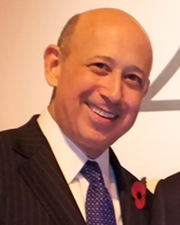 CEO and Chairman of Goldman Sachs Lloyd Blankfein