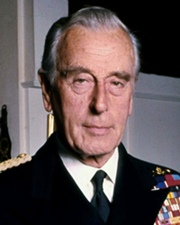 Supreme Allied Commander and Last Viceroy of India Lord Mountbatten