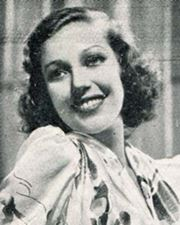Actress Loretta Young