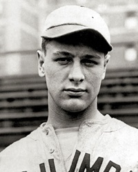 Baseball Player Lou Gehrig