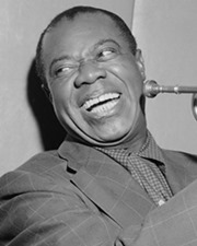 Jazz Musician Louis Armstrong