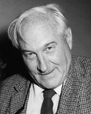 Archaeologist and paleoanthropologist Louis Leakey